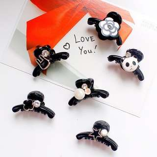 🚚 [IN STOCK] Baby mini hair clip (2-3cm) unique style | pearls gems rabbit flowers kids hair accessories free delivery