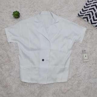 White coat top