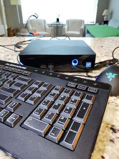Alienware alpha r2 gaming computer + mouse/keyboard/monitor