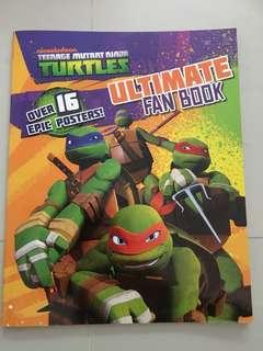 Ninja turtle ultimate fan book