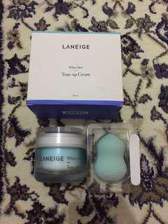 Laneige White Dew Tone Up Cream (Free Eye Sleeping Mask)