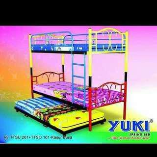 Yuki springbed bisa kredit
