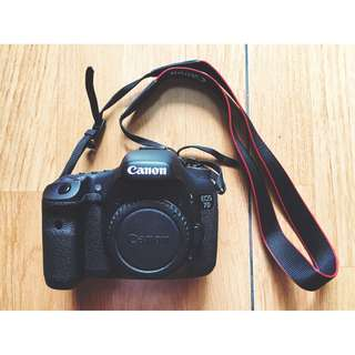 Canon EOS 7D Body Only Package