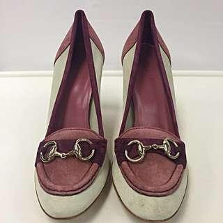 Gucci Seude High Heel(Brand new/全新)