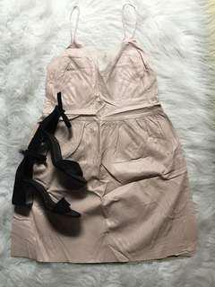 Leather/ Party Dress
