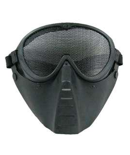 🚚 Tactical airport mesh mask for paintball Nerf playing