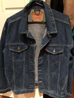 Levi Dark Denim Jacket