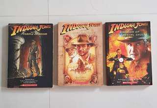 Indiana Jones Story Book x 3