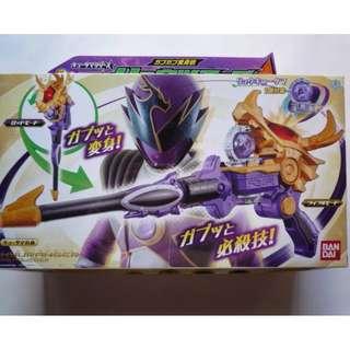 <日本直送, 全新現貨> 宇宙戰隊日版Bandai DX 天龍司令變身槍杖
