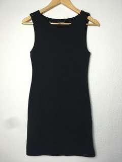 Kookai Black Bodycon dress size2 8-10