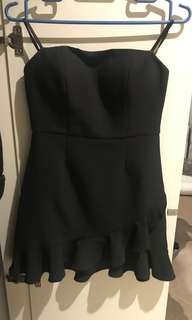 Dotti strapless dress