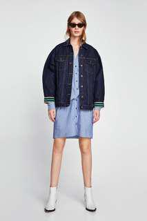 Zara oversize denim jacket