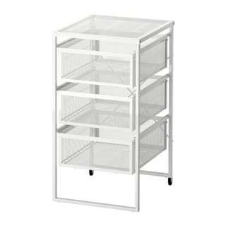 IKEA LENNART DRAWER UNIT WHITE