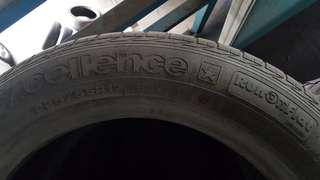 Used Goodyear Excellence 225/55R17 Runflat RFT Tyre