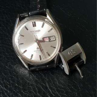Grand Seiko 6246-9001 and vintage GS buckle