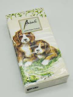 Ambiente® Pocket Tissues Four Doggles