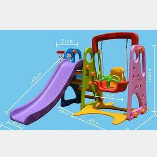 3 In 1 Playground (Swing, Slide and basketball)