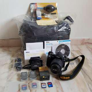 🚚 Nikon D5000 Full Set Original $1119