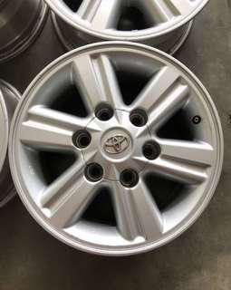 Rim 4x4 Hilux 15 inch ranger triton pajero d-max