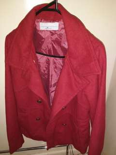 Just Jeans red coat