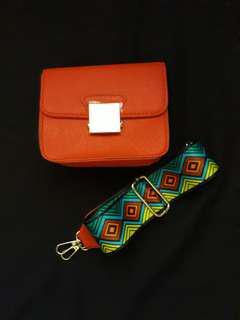 Fashion bag import zara look a like
