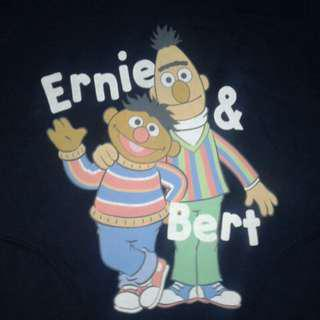 Sesame Street Ernie & Bert sweater hoodie