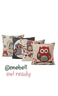 Souvenir bantal owl the series