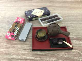 🚚 Megahouse 2005 Japanese Tea and Snack Set