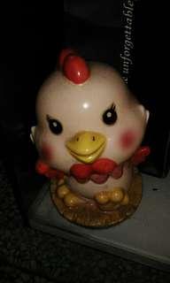 陶瓷母雞存錢筒