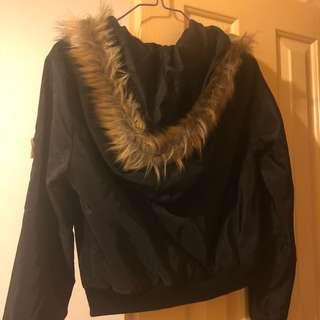 TEMT bomber cropped jacket