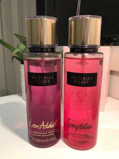 Victoria secret sprays