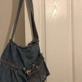 Vintage Baby Doll Denim Bag