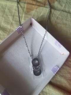 鋼 頸鏈 Necklace