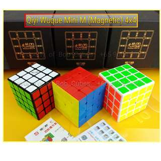 > Qiyi Wuque Mini M (Magnetic) 4x4 for sale in Singapore