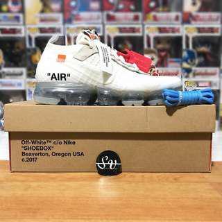 Nike X Off White VaporMax 2018 Triple White