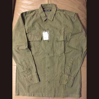 [NEW] niko and ... MEN'S Military Shirt
