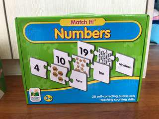 Match it! Numbers Puzzles