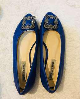 Manolo blank flat shoes kw quality super