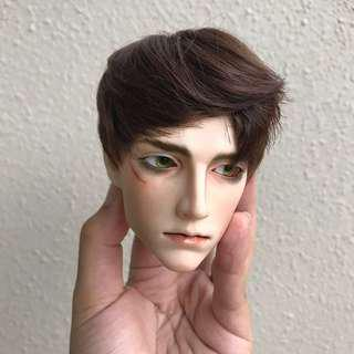 (Updated) BJD realistic face up, cleaning and restringing services