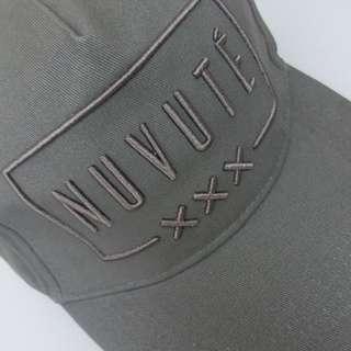 NUVUTÉ cap 帽   NUVUTÉ COTTON BASEBALL CAP GREY