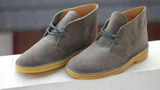 Clarks desser boots
