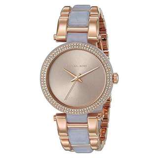 DELRAY TWO-TONE LADIES WATCH MK4319