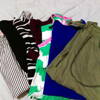 *repriced* clothes bundle! +free forever 21 body suit