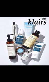 Sale Klairs products assorted