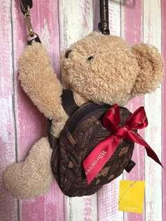 韓國everland 熊熊斜背袋仔 小孩大人適用