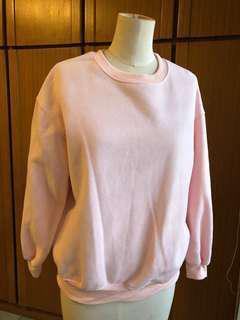 🚚 粉色撲棉衛衣