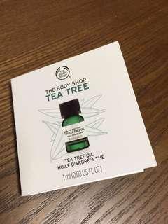 The Body Shop Tea Tree Oil 茶樹油 (1ml sample size)