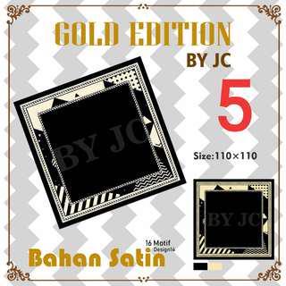 Hijab Segiempat Gold edition by Jc