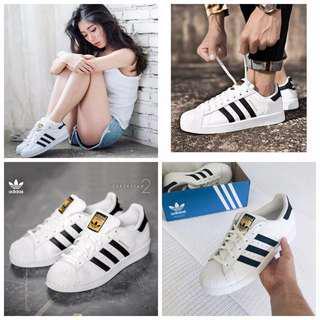 Adidas Superstar 愛迪達 貝殼頭 女鞋 三葉草 金標 板鞋 小白鞋 運動鞋 休閒鞋 情侶鞋 男鞋