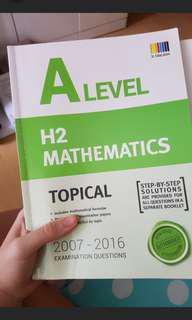 A level math tys
